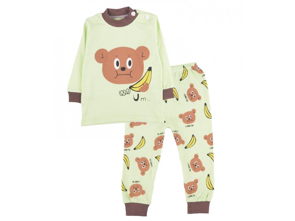Bavlněné pyžamo, dětské, celek, set 2 ks