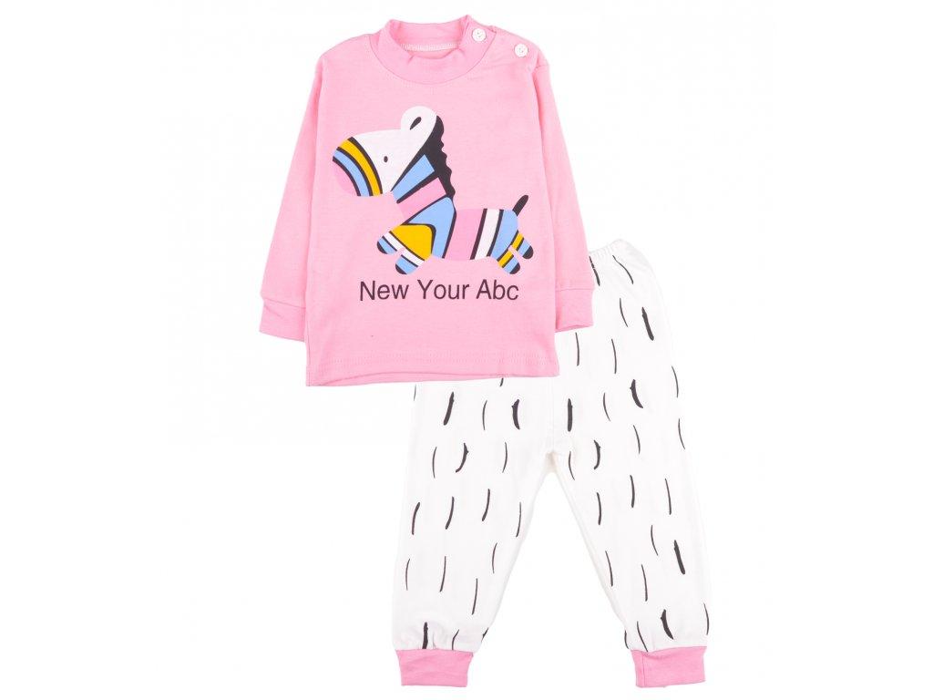 Bavlněné pyžamo, dětské, set