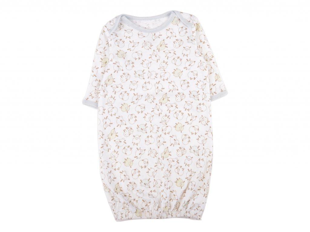 Bavlněný kojenecká noční košile