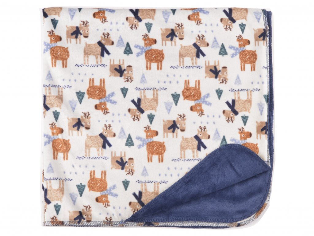 Plyšová deka, 30x30cm