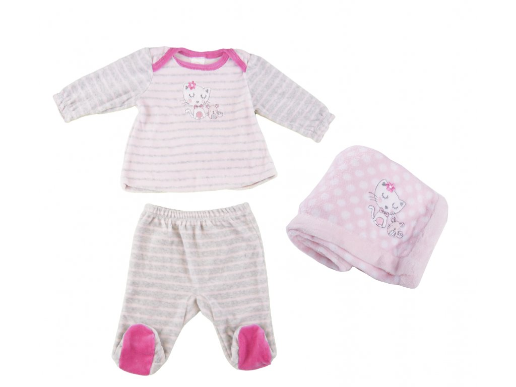 Fleecový kojenecký set, Emma