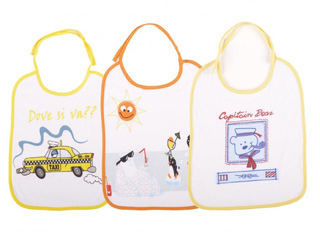 Bryndáčky velké zavazovací, bavlněné, Oakley