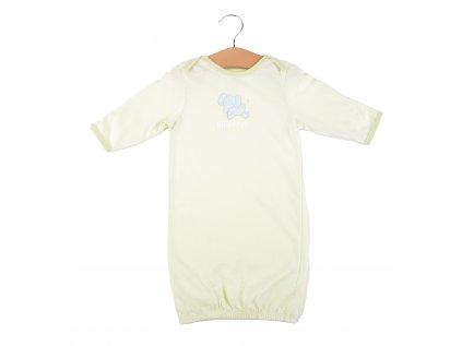 Bavlněná kojenecká noční košilka, sloník1