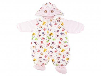 Zateplený kojenecká zimní kombinéza, zajíčekNEW