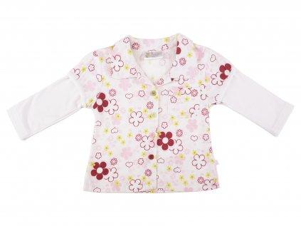 Bavlněná dívčí košile, Flora