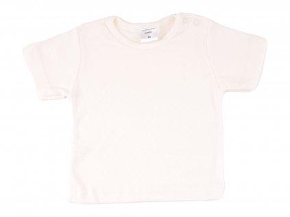 Bavlněné kojenecké triko Ivory