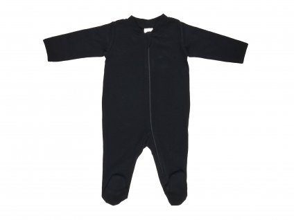 Bavlněné kojenecké body, na zip, Night