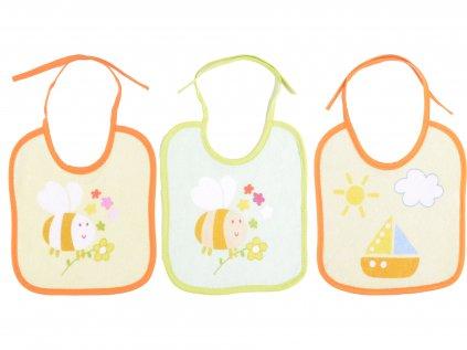 Bavlněné kojenecké brnydáky, 3 ks v balení