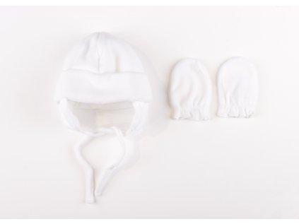 Fleecová čepička a rukavičky