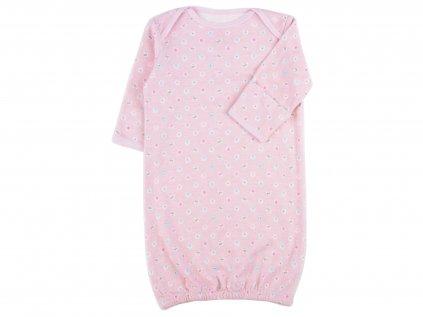 Kojenecká noční košile, růžová