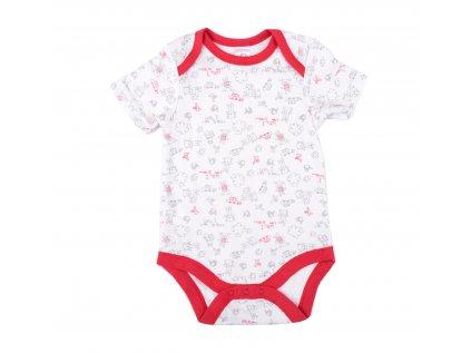Bavlněné kojenecké body Teddy