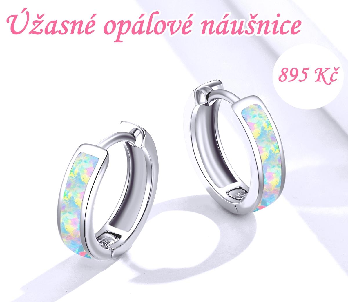 Úžasné Opálové náušnice ♥