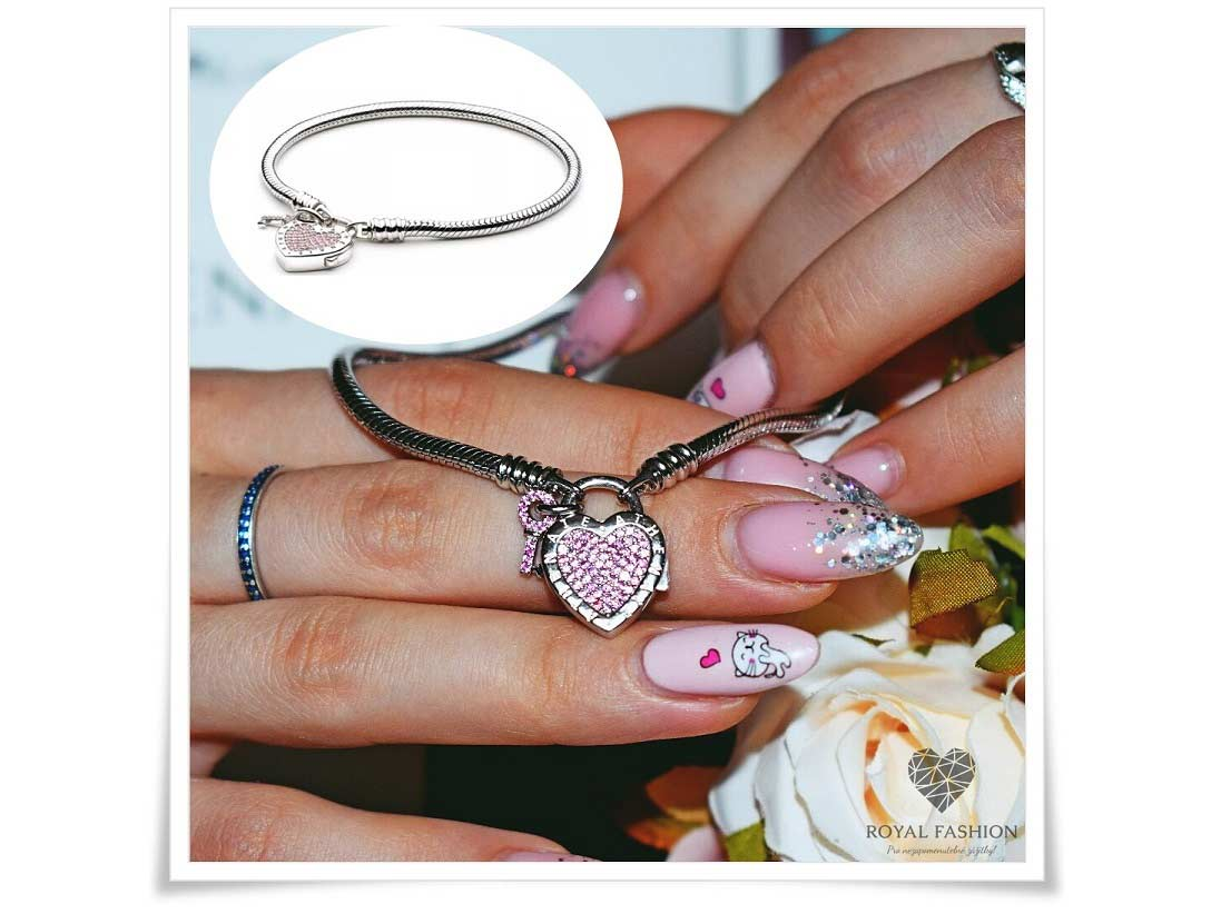 Náramek Klíč k mému srdci ♥