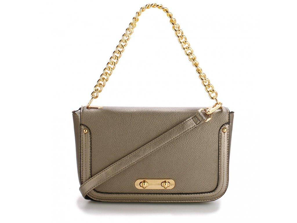 Anna Grace Luxusní kabelka AG00560 GREY - ROYAL FASHION fd566eb9576