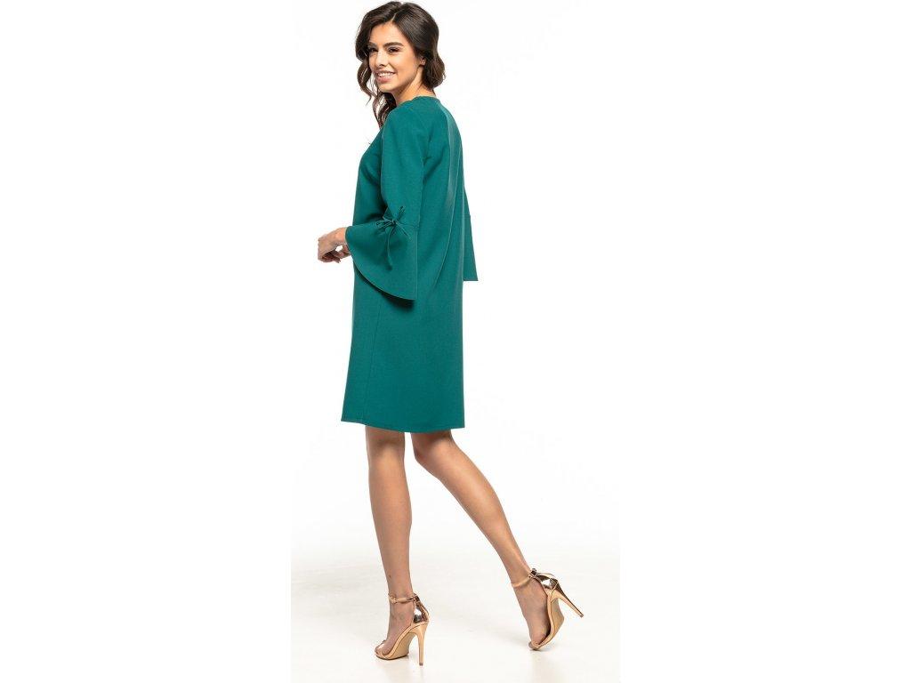 d873f4039355 Tessita společenské šaty MM-127876 zelená - ROYAL FASHION