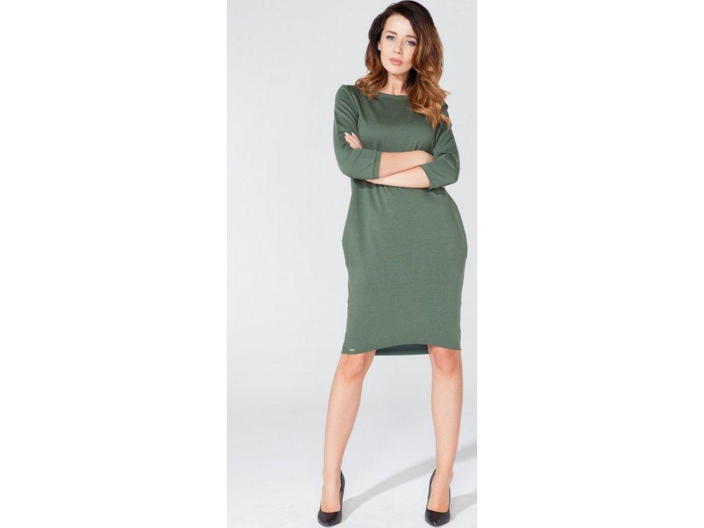 c492f29b5cd7 Tessita denní šaty MM-51744 zelená - ROYAL FASHION