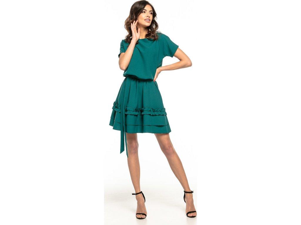 b82925a9149e Tessita denní šaty MM-127921 zelená - ROYAL FASHION