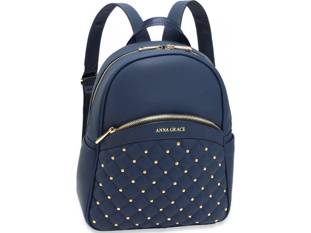 Anna Grace dámský batoh AG00590_NAVY modrý