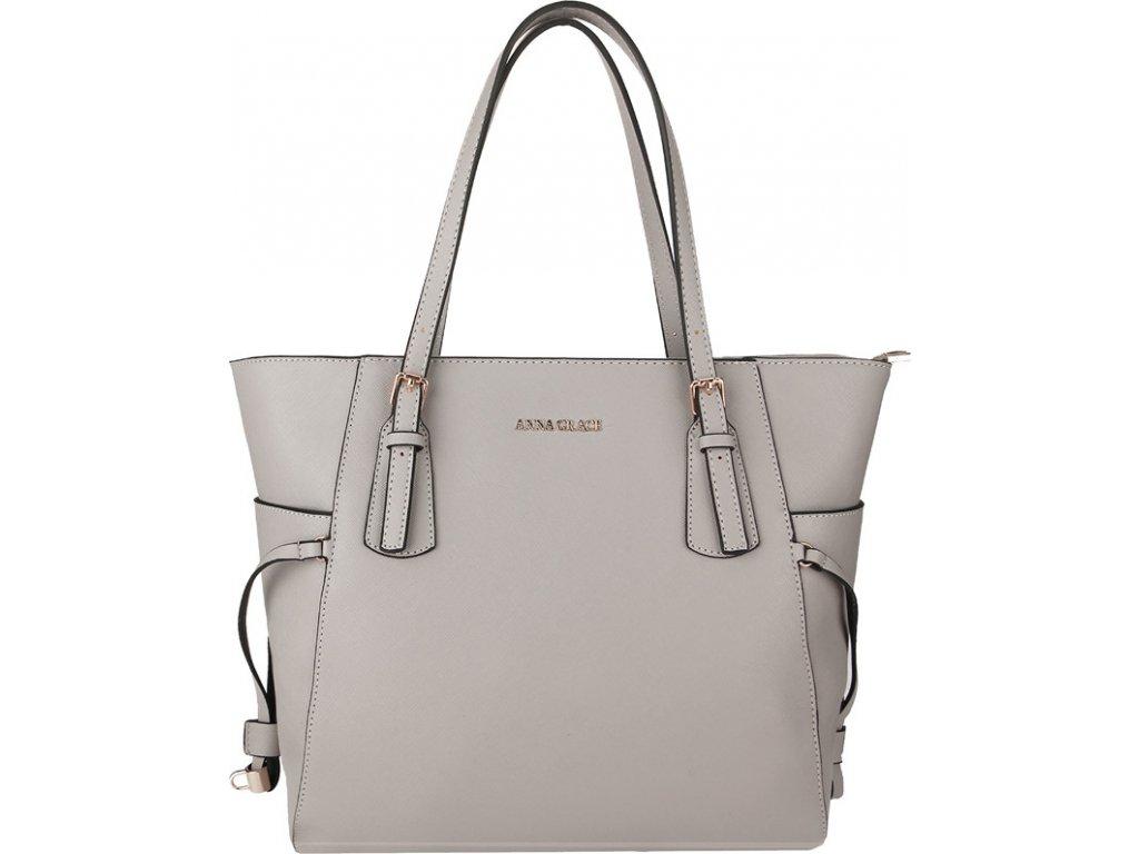 Anna Grace Luxusní kabelka AG00752_GREY