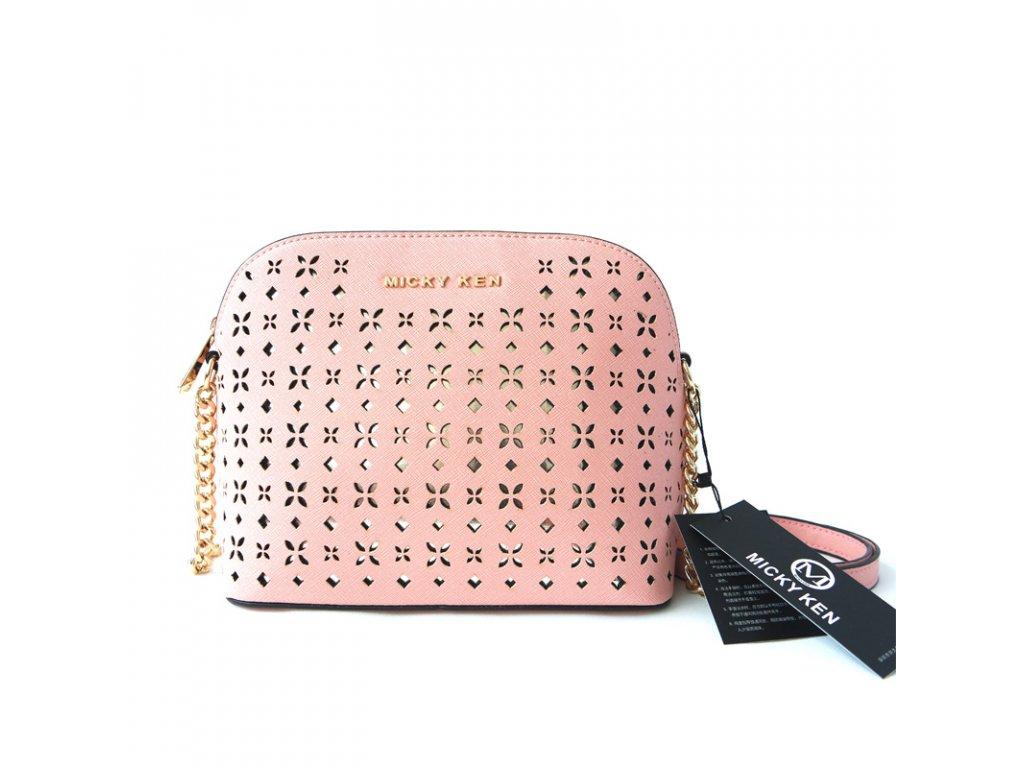 578d08c561 Micky Ken Luxusní kabelka MK2251 PINK - ROYAL FASHION