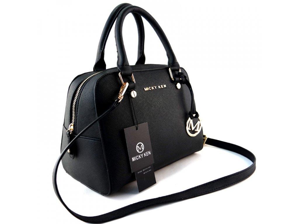 c9152f17a6 Micky Ken Luxusní kabelka MK814 BLACK - ROYAL FASHION