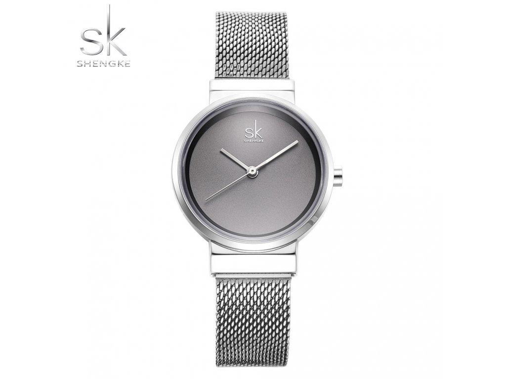 4096abc4d SK Shengke hodinky Elegance Silver K0083_SILVER - ROYAL FASHION