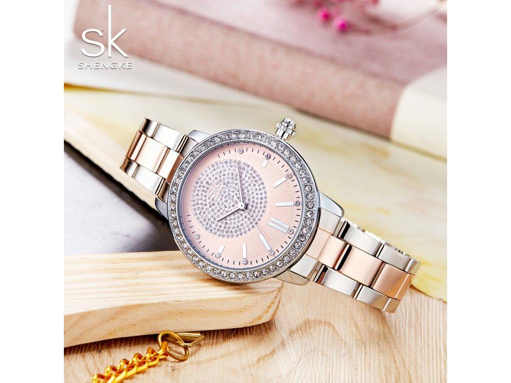 ... K0075 L01 SILVER · SK Shengke hodinky Luxury Rose Gold K0075 L01 SILVER  ... ae01a1145b