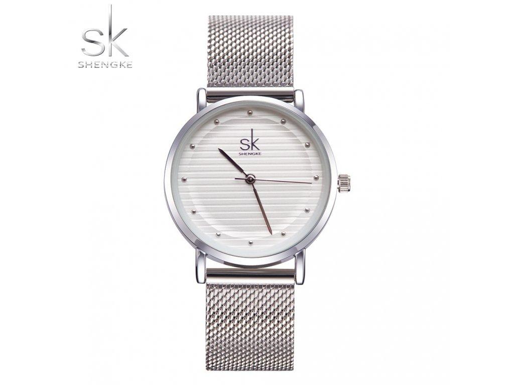 e893d84fe SK Shengke hodinky Fashion Silver K0049_SILVER - ROYAL FASHION