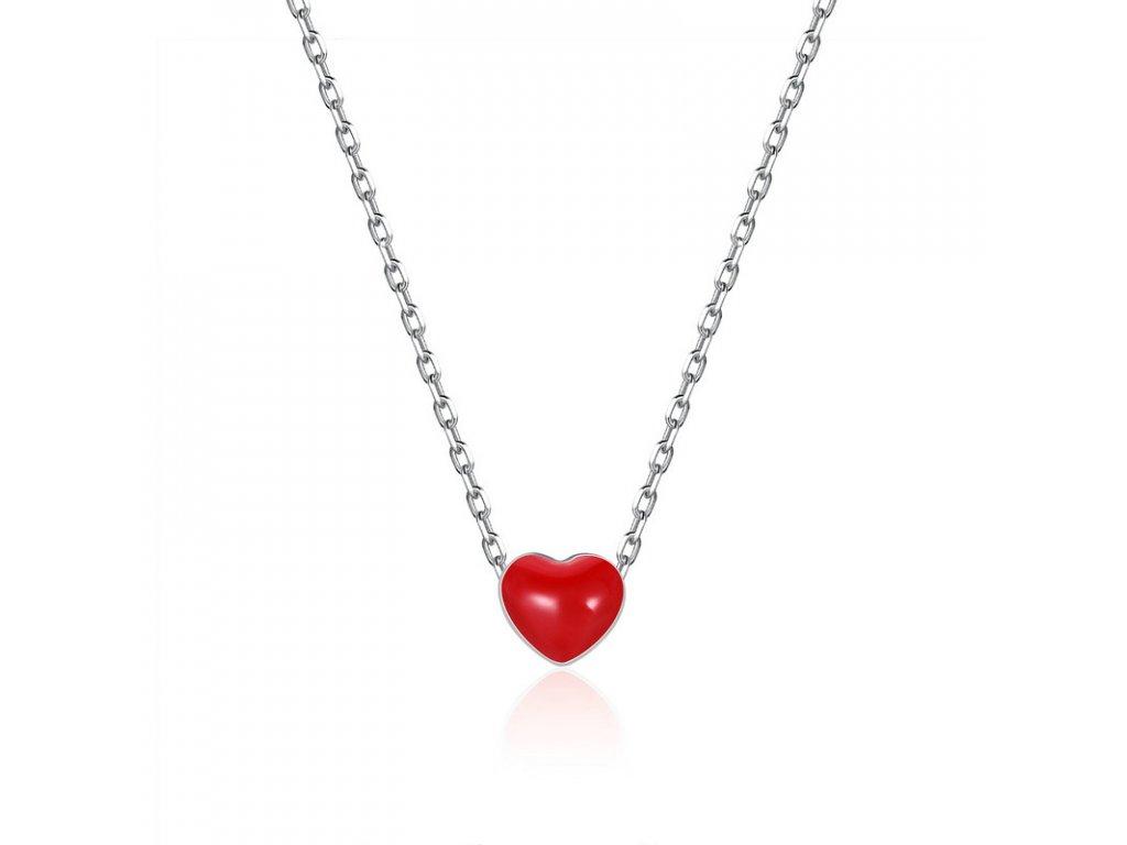 9a8295d77 Royal Fashion náhrdelník Minimalistické srdce VSN050 - ROYAL FASHION
