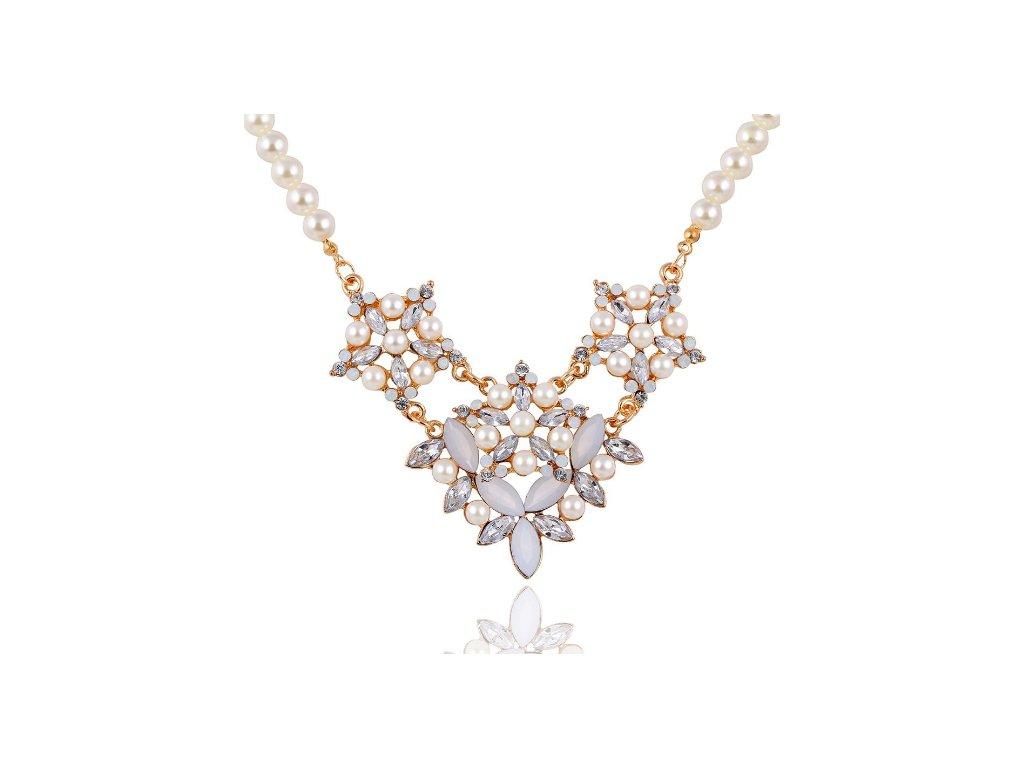 17KM náhrdelník Chione ND0111 se zirkony