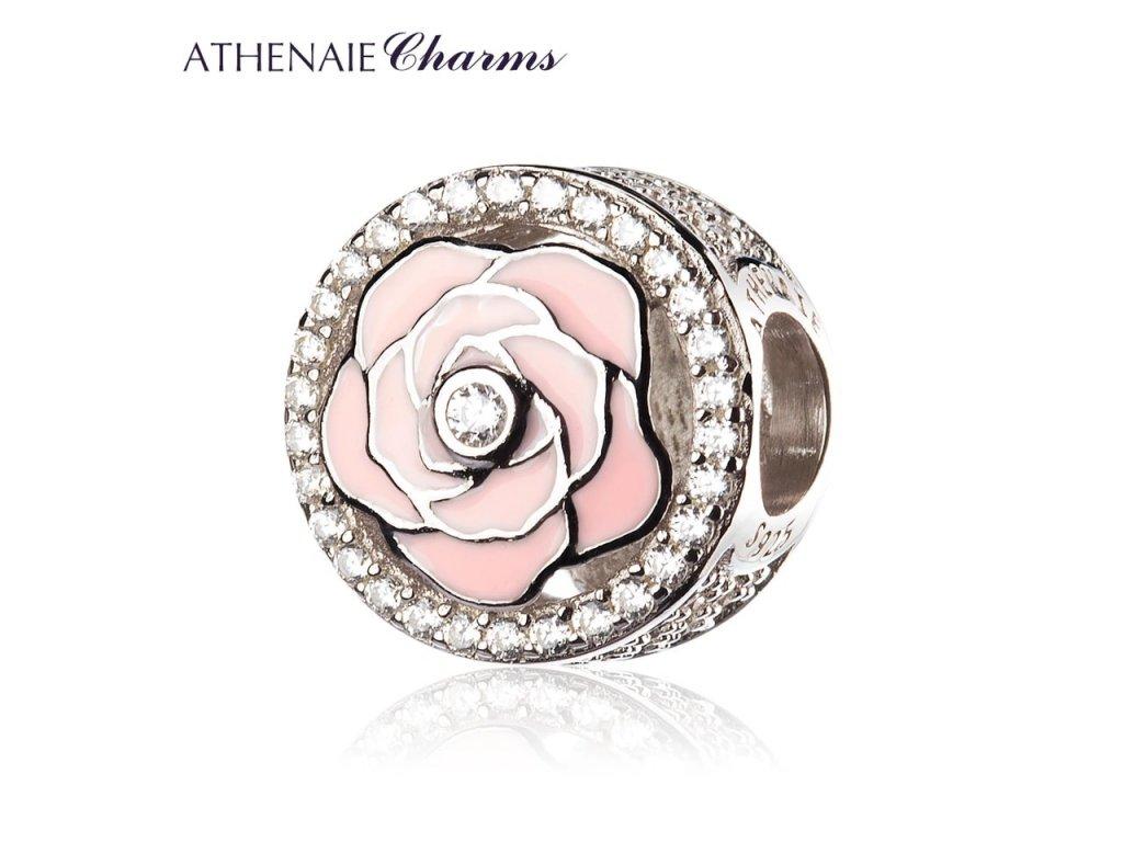 Athenaie přívěsek Romantická růže lásky  EN41