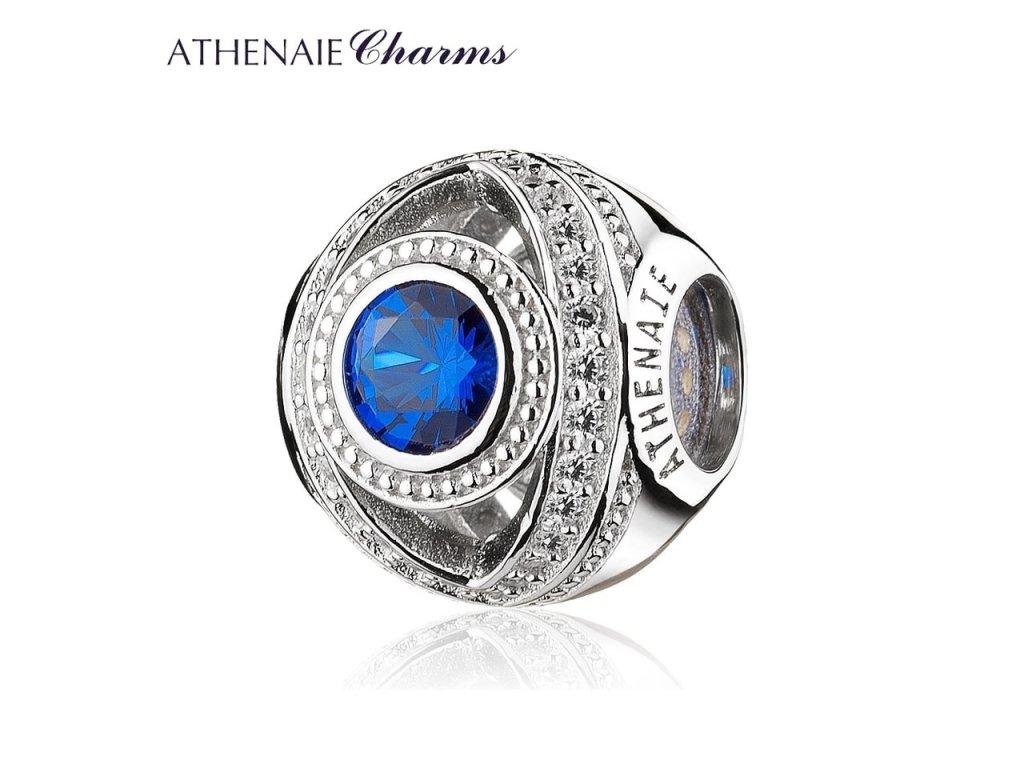 Athenaie přívěsek Modré průzračné oko PAV64