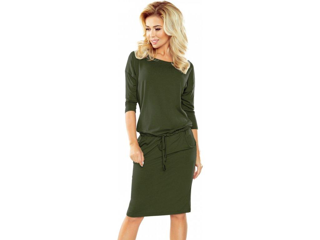 62a1c819177a Numoco denní šaty MM-107934 zelená - ROYAL FASHION