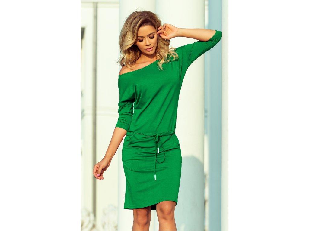 3dc92ea4f36a Numoco denní šaty MM-125999 zelená - ROYAL FASHION