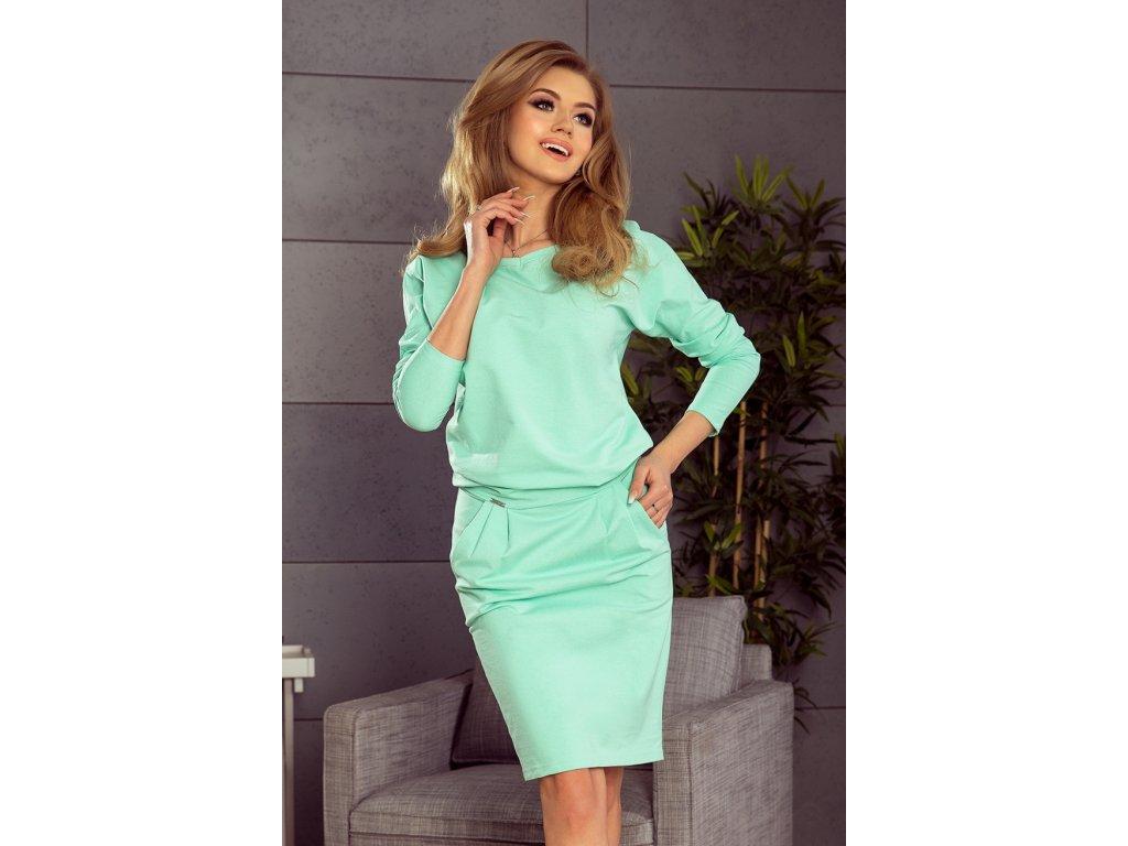 543e73ef9ed7 Numoco denní šaty MM-114623 zelená - ROYAL FASHION
