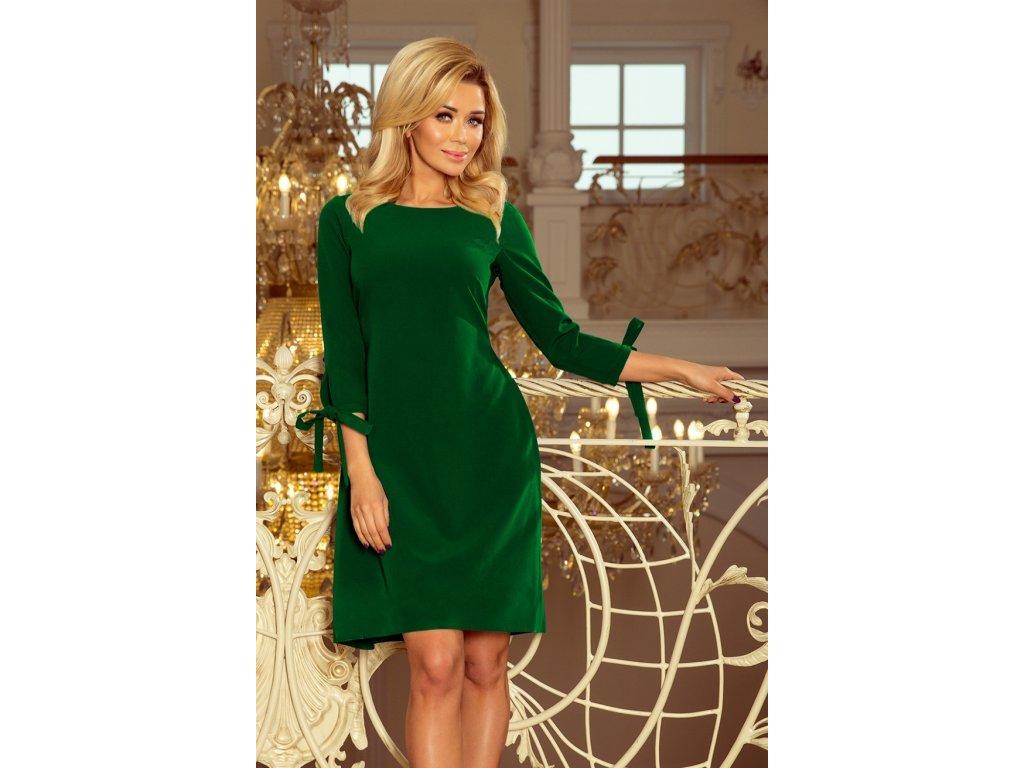 10673bcc3647 Numoco společenské šaty MM-124635 zelená - ROYAL FASHION