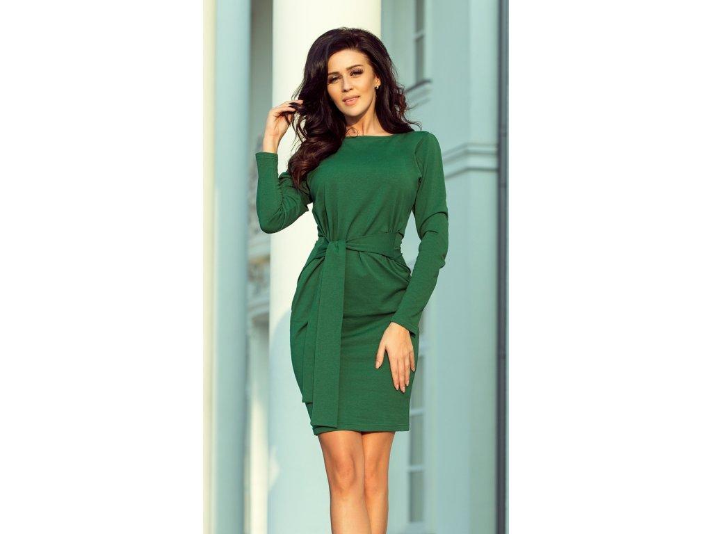 936232df4500 Numoco denní šaty MM-122259 zelená - ROYAL FASHION