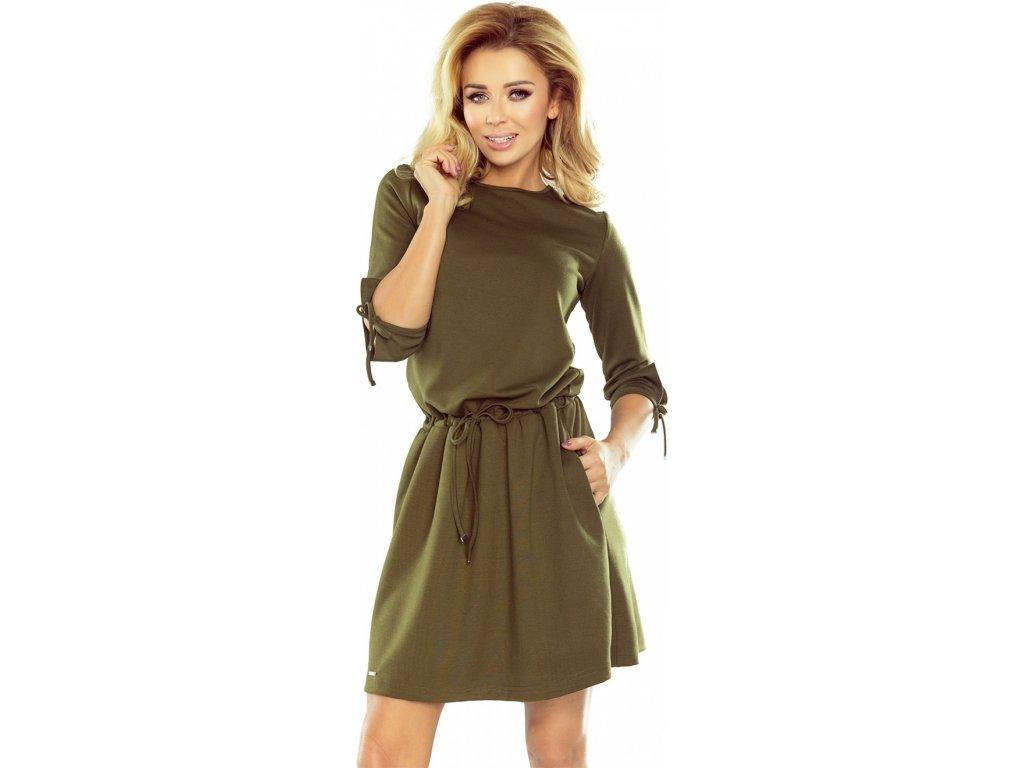 558cb9845af5 Numoco denní šaty MM-109843 zelená - ROYAL FASHION