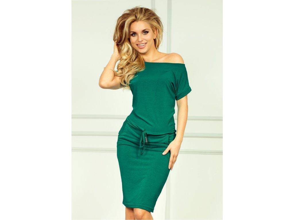 e6bce70d003e Numoco denní šaty MM-121849 zelená - ROYAL FASHION
