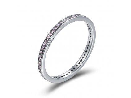 Royal Fashion prsten Růžová elegance SCR228