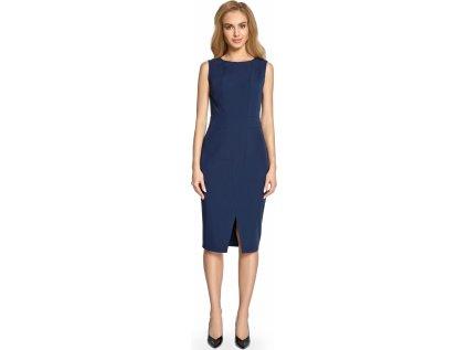 Style večerní šaty MM-112887 modrá