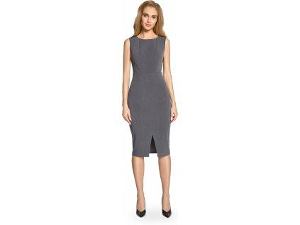 Style večerní šaty MM-112888 šedá