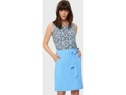 Greenpoint sukně MM-130081 modrá