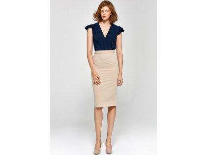 Colett sukně MM-118887 béžová