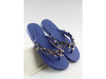 Inello žabky MM-119461 modrá