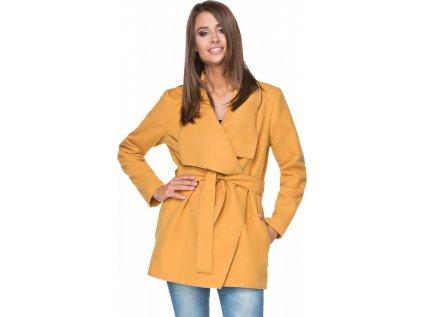 Tessita kabát MM-107302 žlutá