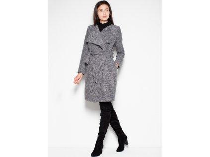 Venaton kabát MM-77414 šedá