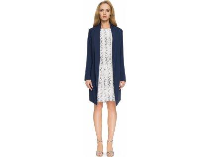 Style kabát MM-112613 modrá