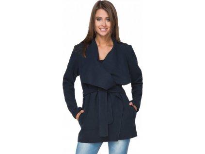 Tessita kabát MM-107304 modrá