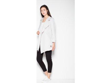 Venaton kabát MM-77419 šedá
